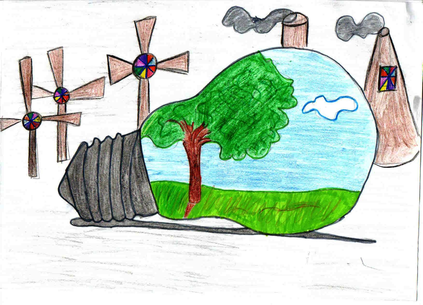 Конкурс рисунков на тему охрана окружающей среды